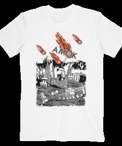 Atoms For Peace Inspired Artwork Amok Thom Yorke Radiohead Band T Shirt