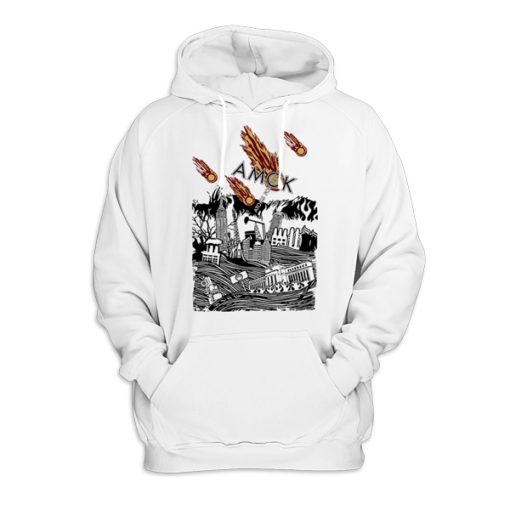 Atoms For Peace Inspired Artwork Amok Thom Yorke Radiohead Pullover Hoodie