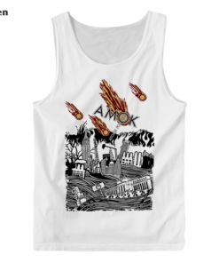 Atoms For Peace Inspired Artwork Amok Thom Yorke Radiohead Band Tank Top