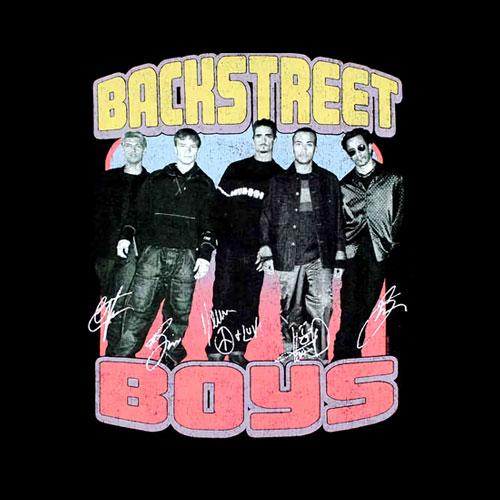 Backstreet Boys Vintage Destroyed T-Shirt - Band T Shirt
