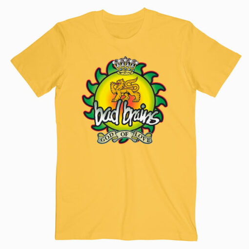 Bad Brains God Of Love Band T Shirt