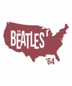 Beatles Adult T-Shirt 1964 Tour of America - Band T Shirt