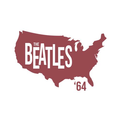 Beatles Adult T-Shirt 1964 Tour of America - Band T Shirt