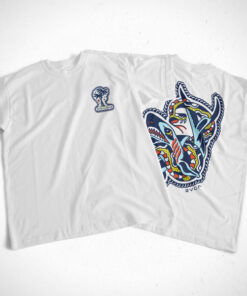 Bert RVCALOHA T Shirt Front Back Sides