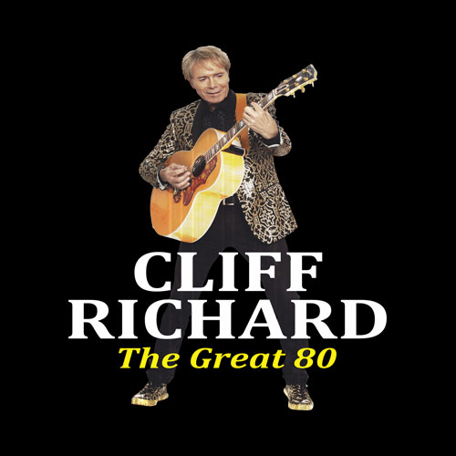 Best of Legend Singer Cliff Richard Graphic T-Shirts - Band T Shirt