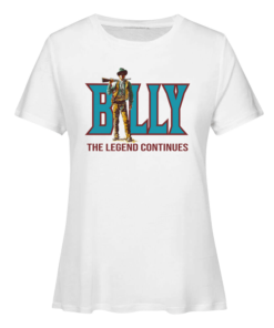 Billy The Legend Continues Billy The Kid T Shirt