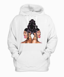 Cardi B and Megan Thee Stallion's Pullover Hoodie