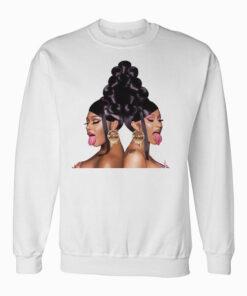 Cardi B and Megan Thee Stallion's Sweatshirt