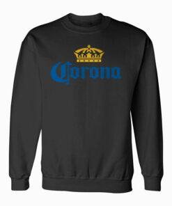 Classic Corona Logo With Crown Sweatshirt