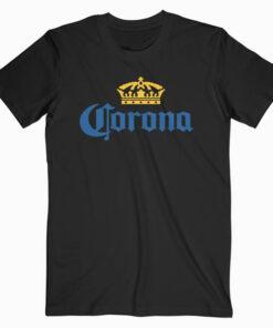 Classic Corona Logo With Crown T Shirt