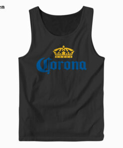 Classic Corona Logo With Crown Tank Top