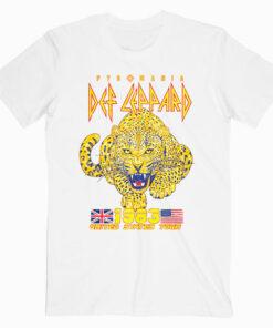 Def Leppard Japan Tour `88 Band Shirt