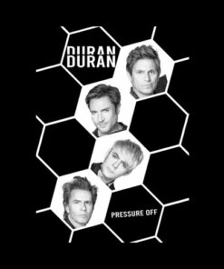 Duran Duran Pressure Off Band T Shirt