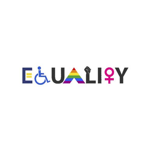 EQUALITY Equal Rights LGBTQ Ally Unity Pride Feminist T Shirt