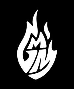 Good Mythical Morning White Logo
