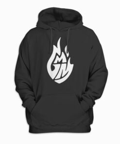 Good Mythical Morning White Logo Pullover Hoodie