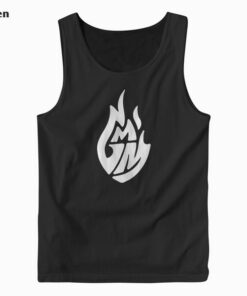 Good Mythical Morning White Logo Tank Top