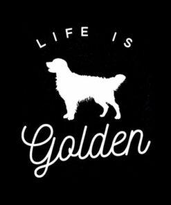 Life is Golden for Golden Retriever lovers