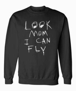 Look Mom I Can Fly Tank Top Sweatshirt