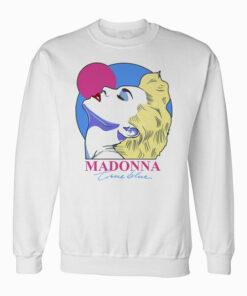 Madonna True Blue Art Sweatshirt