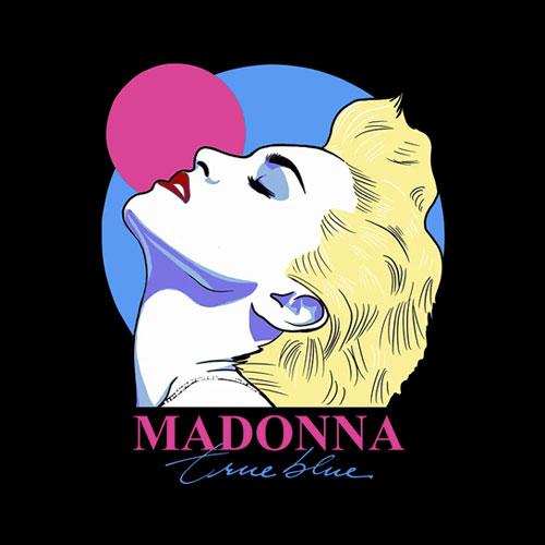 Madonna True Blue Art