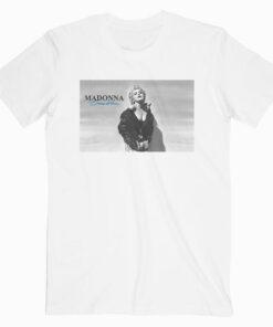 Madonna True Blue Cover Band T Shirt