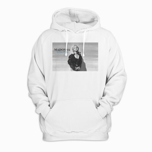 Madonna True Blue Cover Pullover Hoodie