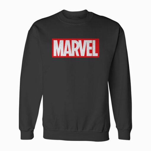 Marvel Classic Distressed Logo Sweatshirt