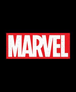 Marvel Classic Distressed Logo T Shirt