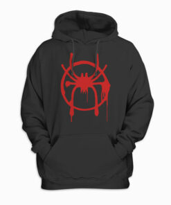 Marvel Spider Man Into the Spider Verse Miles Morales Pullover Hoodie