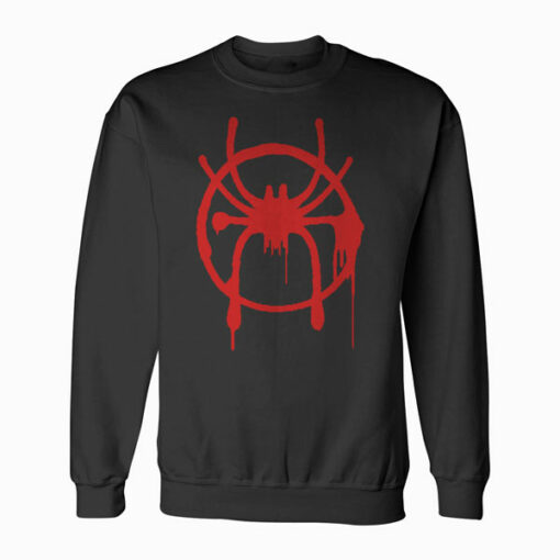 Marvel Spider Man Into the Spider Verse Miles Morales Sweatshirt