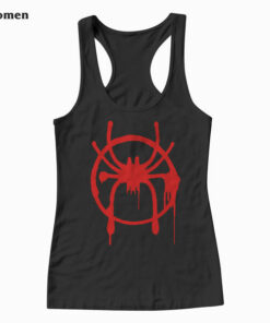 Marvel Spider Man Into the Spider Verse Miles Morales Tank Top