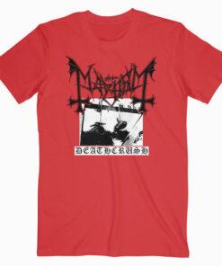 Mayhem Deathcrush Band T Shirt