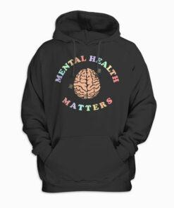 Mental Health Matters Awareness Pullover Hoodie