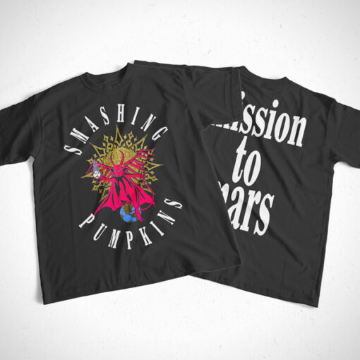 Mission To Mars Smashing Pumpkins Band T Shirt Front Back Sides