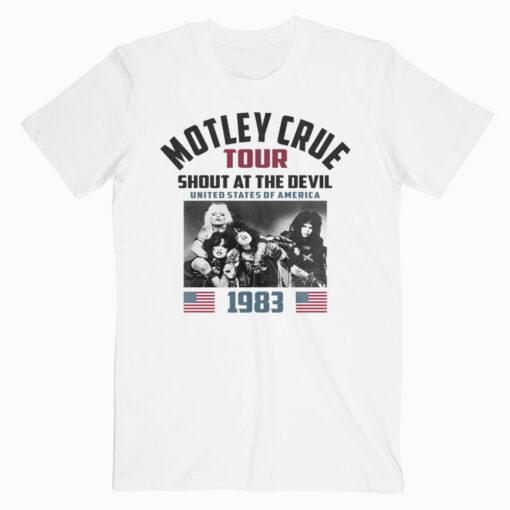Motley Crue Satd83 T-shirt - Band T Shirt