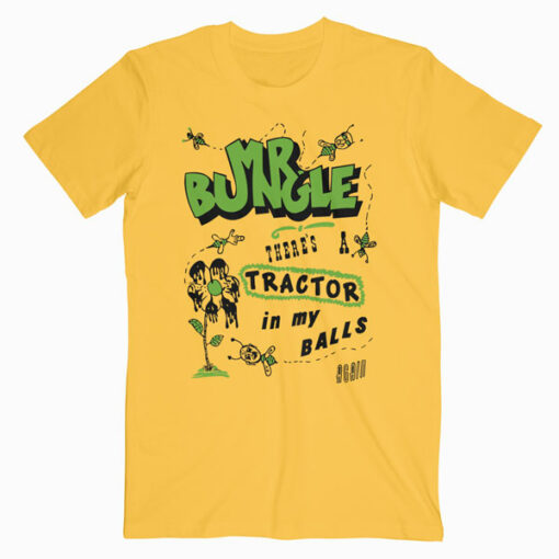 Mr Bungle Tractor In My Balls Band T Shirt