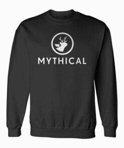 Mythical White Logo Sweatshirt