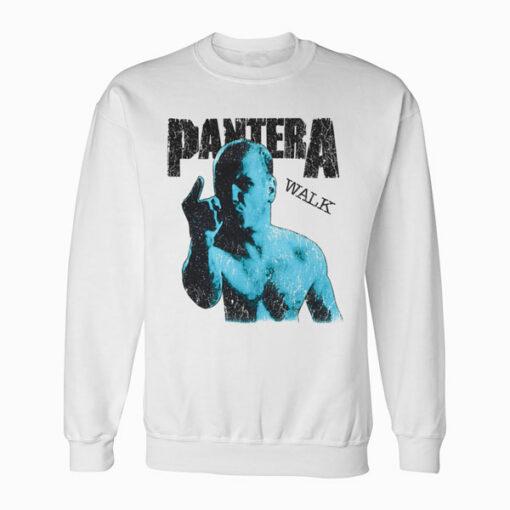 Pantera Walk Band Sweatshirt