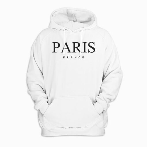 Paris France Graphic Pullover Hoodie