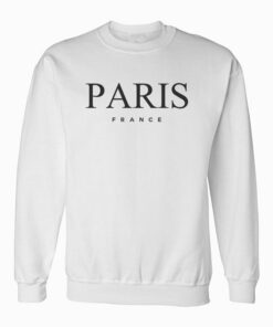 Paris France Graphic Sweatshirt