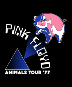 Pink Floyd Animals Tour 77 T-Shirt - Band T Shirt