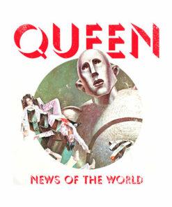 Queen News of the World T-Shirt - Band T Shirt