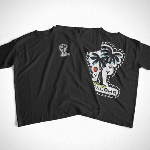 RVCALOHA T Shirt bl