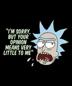 Rick and Morty Your Opinion means Very Little