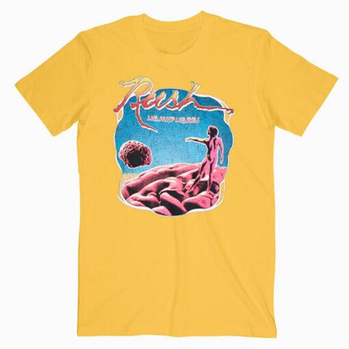 Rush Hemispheres Vintage Band T Shirt