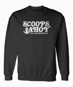 Scoops Ahoy Ice Cream Parlor Sweatshirt