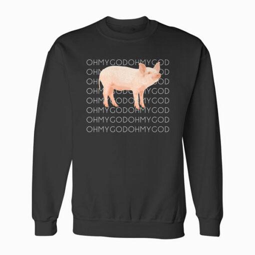 Shane Dawson Oh My God Pig Sweatshirt