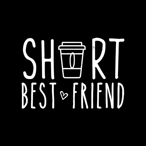 Short Best Friend Quote Friendship Gift For 2 Matching BFF