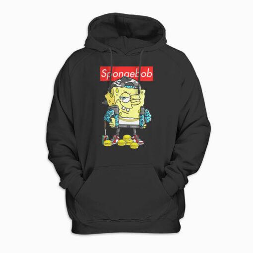 Spongebob Squarepants Cool Spongebob Pullover Hoodie